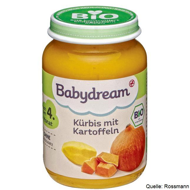 Babydream Kürbis mit Karotten