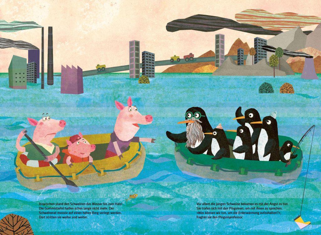Schweine und Pinguine im Klimawandel