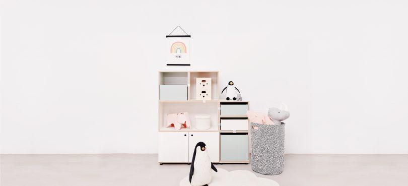 Modulare Kinderzimmer-Regale